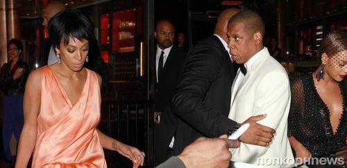 Конфликт Jay Z и Соланж Ноулз: новые подробности