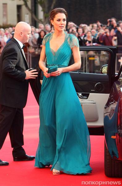 Принц Уильям и Кейт Миддлтон на торжественном приеме в честь Олимпиады