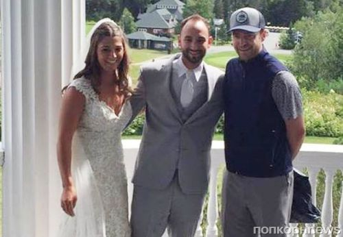 Джастин Тимберлейк стал случайным гостем на чужой свадьбе