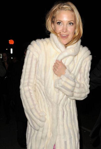 Кейт Хадсон по пути в ночной клуб