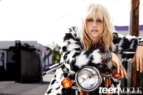 Kesha в журнале Teen Vogue. Август 2014