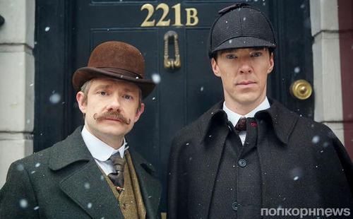 Рождественский спецвыпуск «Шерлока»: новые фото