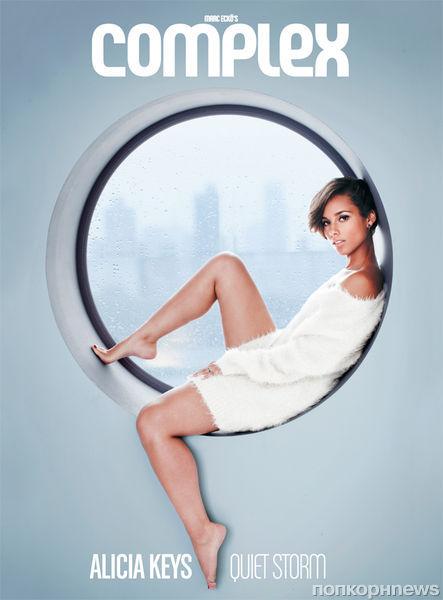 Алиша Кис в журнале Complex. Декабрь / январь 2012-2013