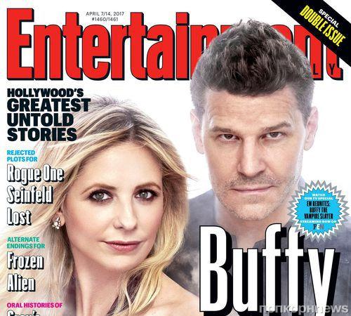 Каст «Баффи – истребительницы вампиров» отпраздновал 20-летие сериала новой фотосессией