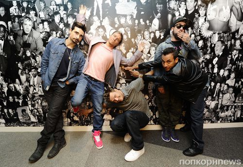 Фотоколл Backstreet Boys в Лондоне