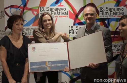 Анджелина Джоли объявлена почетным гражданином Сараево