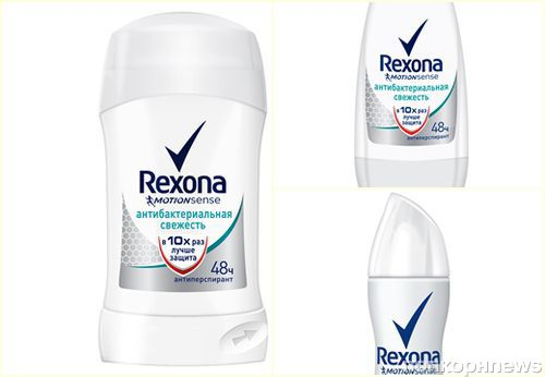Rexona дарит свежесть движений
