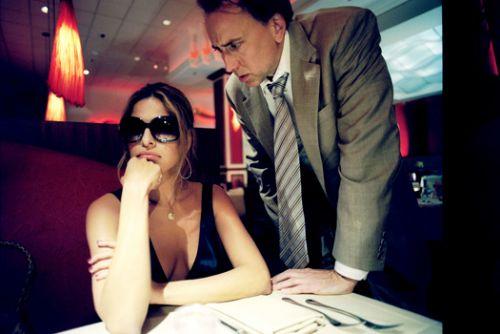 Николас Кейдж и Ева Мендес для промо к фильму «Плохой лейтенант»
