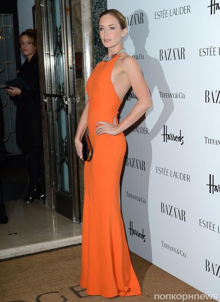 Звезды на церемонии «Женщина года» журнала Harper's Bazaar