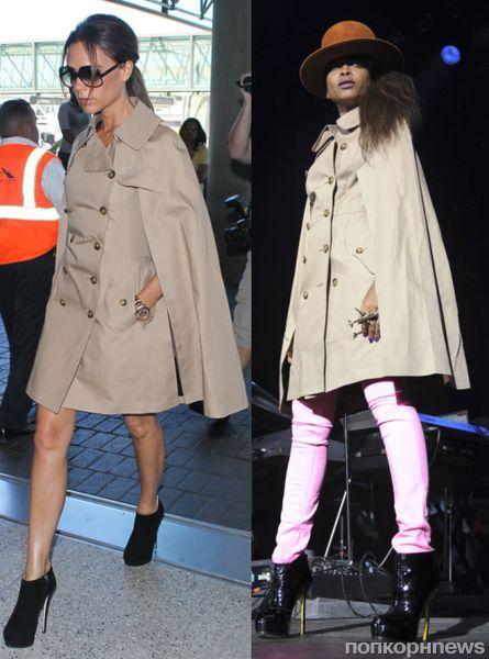 Fashion battle: Виктория Бэкхем и Эрика Баду