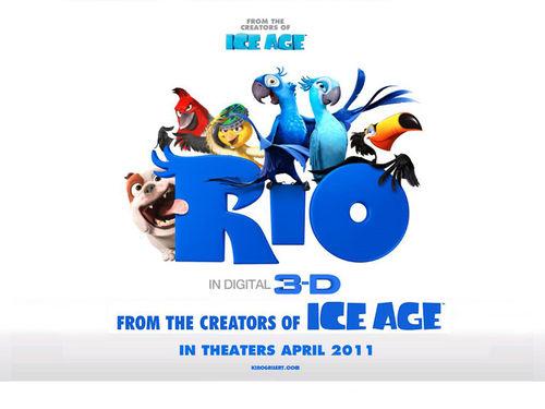 """Второй трейлер фильма """"Рио 3D"""""""
