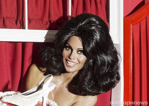 Памела Андерсон снялась в откровенной фотосессии для журнала Paper