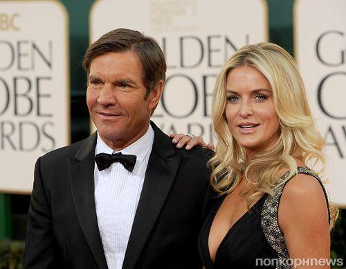 Деннис Куэйд развелся с третьей женой после 12 лет брака и с третьей попытки