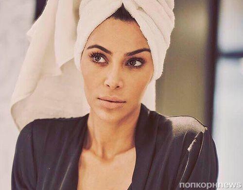 Ким Кардашьян снялась в фотосессии для мексиканского Vogue