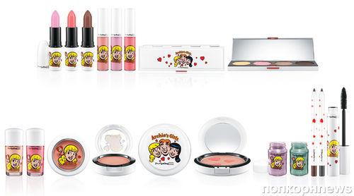 Коллекция декоративной косметики MAC Archie's Girls. Весна 2013