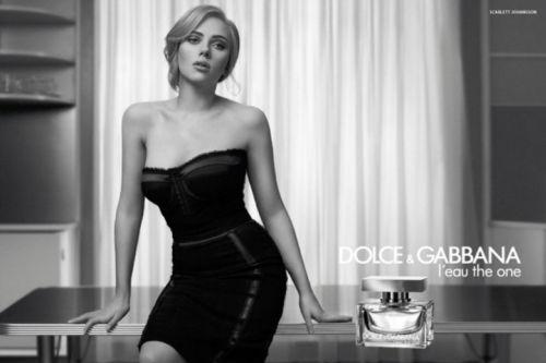 Скарлетт Йоханссон в рекламе духов Dolce & Gabbana