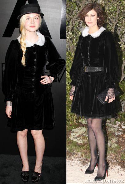 Fashion battle: Эль Фаннинг и Анна Муглалис