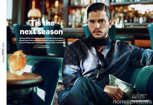 Кит Харингтон в журнале Esquire UK. Февраль 2014