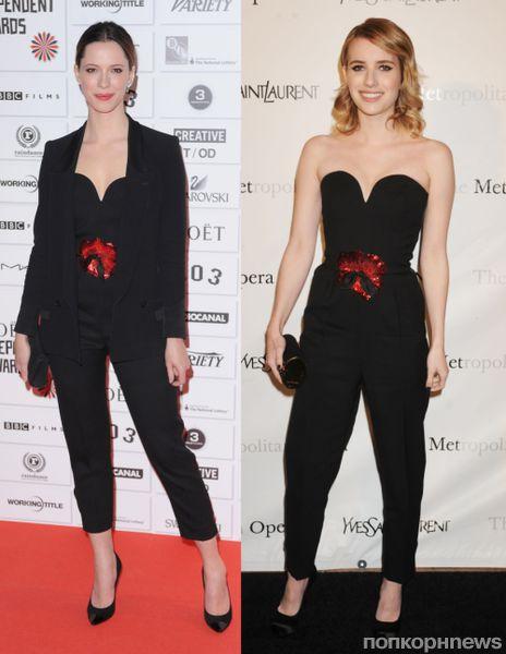 Fashion battle: Ребекка Холл и Эмма Робертс