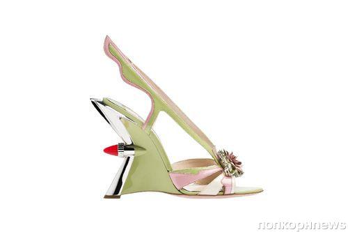 Необычная коллекция обуви от Prada. Весна / лето 2012