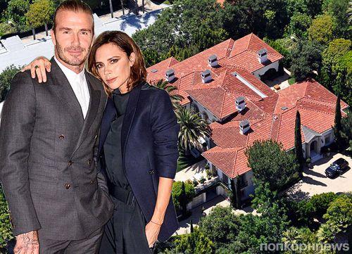 Чета Бекхэмов прощается со Штатами и продает особняк в Лос-Анджелесе за 33 млн долларов