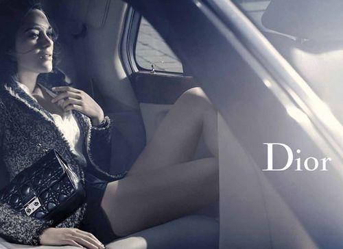 Марион Котийяр для Christian Dior Lady Handbags