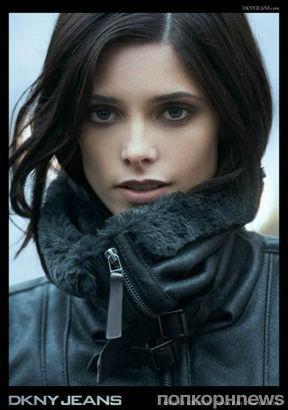 Эшли Грин в Рекламных кампаниях DKNY и Mark Cosmetics. Осень / зима 2012-2013
