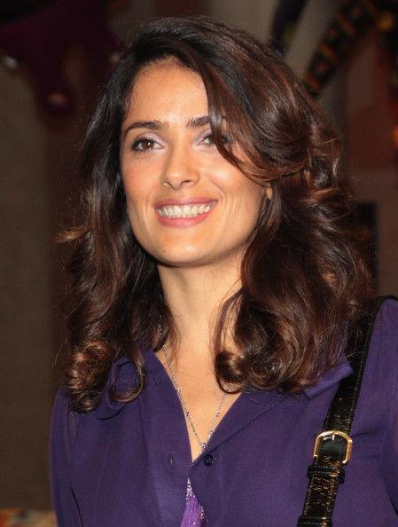 Сальма Хайек на Международной биеннале в Венеции