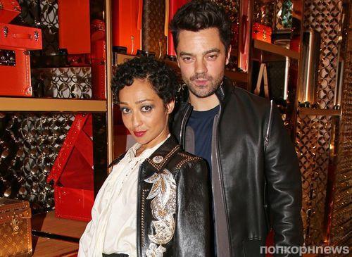 Рут Негга и Доминик Купер на вечеринке Louis Vuitton в Лондоне