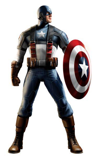 Арт-концепт персонажа Капитан Америка