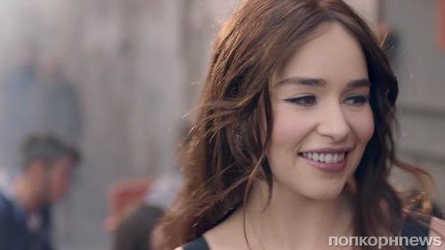 Видео: Эмилия Кларк запела в новой рекламе Dolce & Gabbana