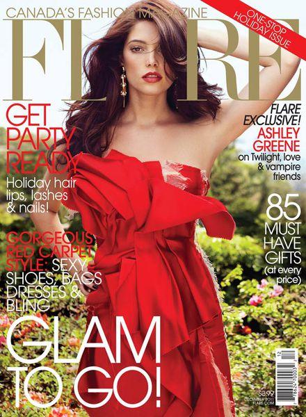 Эшли Грин в журнале Flare. Декабрь 2011