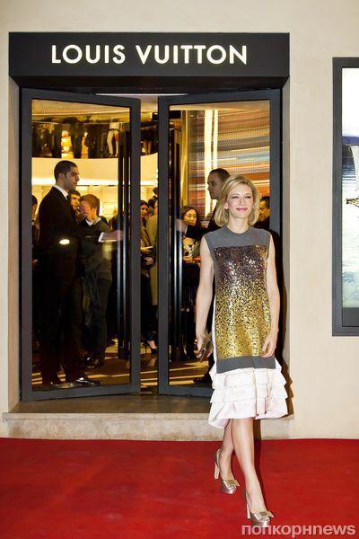 Кейт Бланшетт на вечеринке Louis Vuitton в Риме