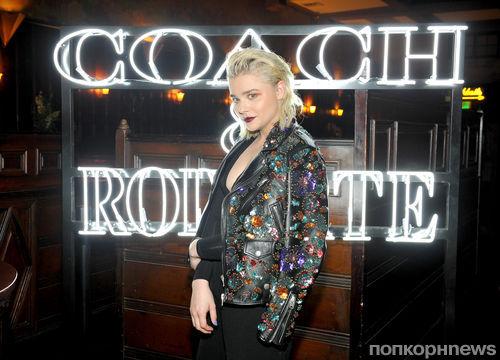 Фото: Хлоя Морец поразила новым образом на вечеринке Coach