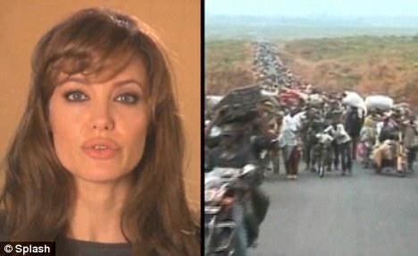 Видео: Анджелина Джоли для Дня Беженцев 2010