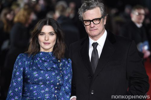 Колин Ферт и Рэйчел Вайс на премьере «Гонки века» в Лондоне