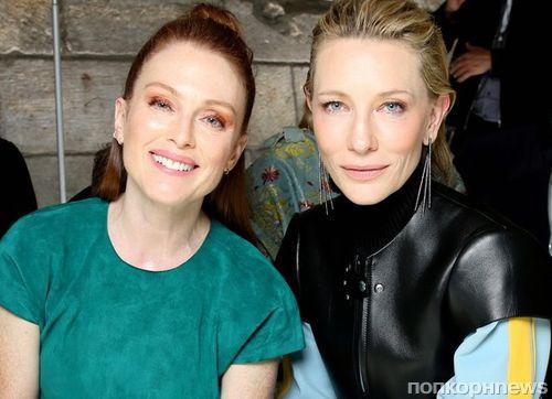 Алисия Викандер, Кейт Бланшетт, Мишель Уильямс и другие звезды на показе Louis Vuitton