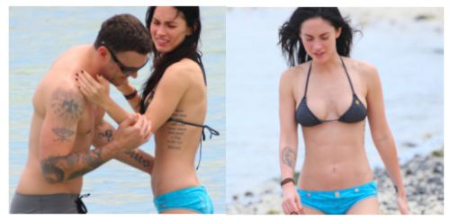 Меган Фокс отдыхает со своим бойфрендом на Гавайях