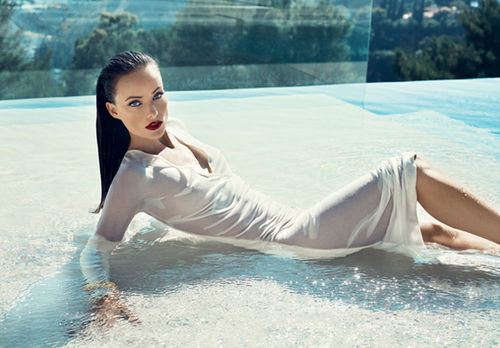 Оливия Уайлд в журнале Vanity Fair и Flare. Декабрь 2010
