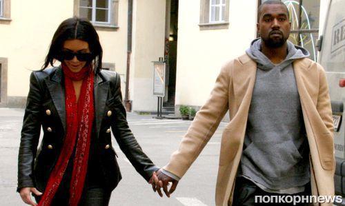 Ким Кардашян думает сделать тату в честь своего мужа