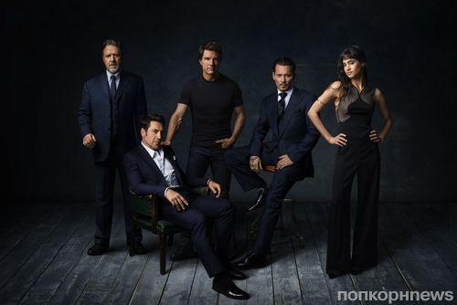 Universal анонсировала «монстровселенную» с Джонни Деппом, Хавьером Бардемом и Томом Крузом