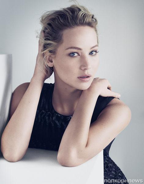 Дженнифер Лоуренс стала лицом новой коллекции Christian Dior
