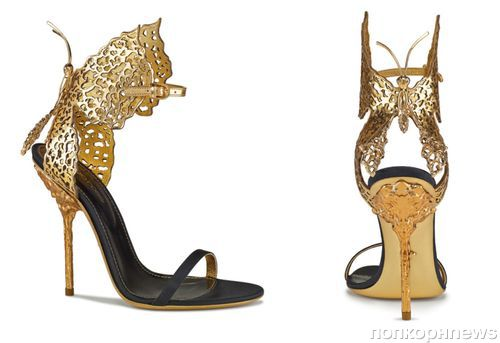 Интересные штучки: сандалии-бабочки от Sergio Rossi