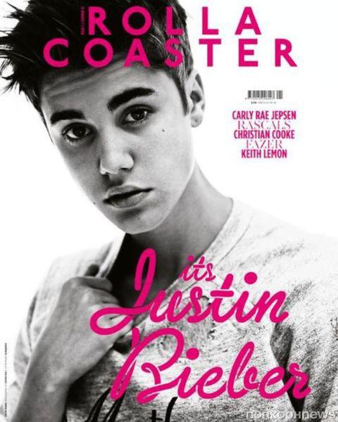 Джастин Бибер в журнале Rollacoaster. Лето 2012