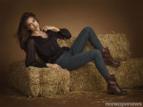 Ирина Шейк в рекламной кампании Xti. Осень / зима 2013-2014