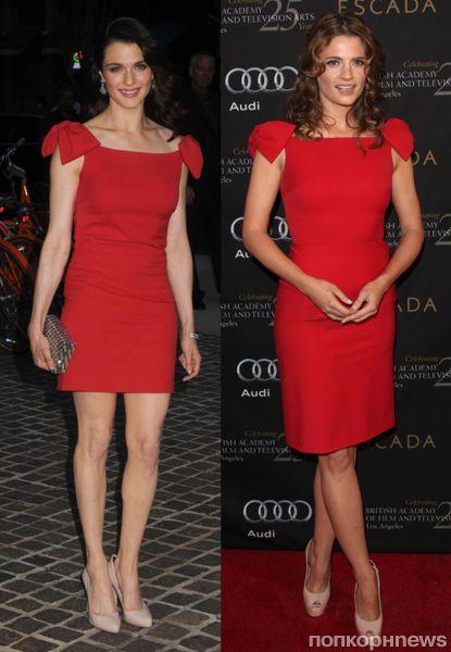 Fashion battle: Рэйчел Вайс и  Стана Катич