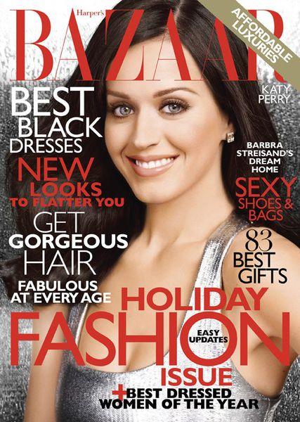 Кэти Перри в журнале Harper's Bazaar. Декабрь 2010