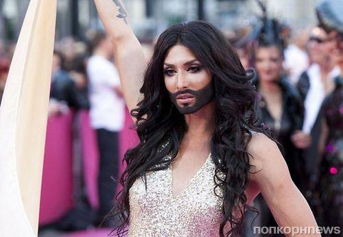 Кончита Вурст поможет Полине Гагариной готовиться к Евровидению-2015