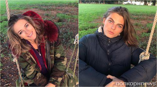 «Как сестры-близнецы»: новое фото Элизабет Херли с сыном смутило поклонников актрисы