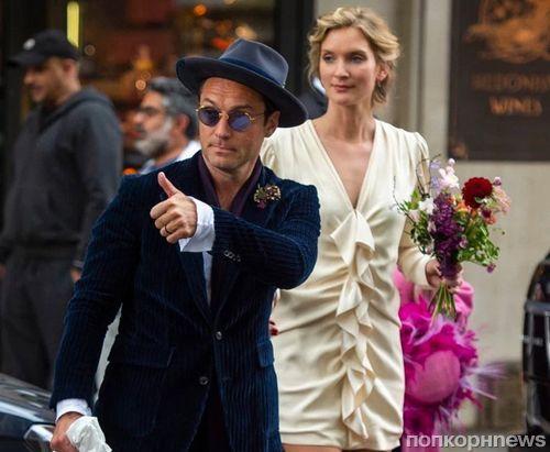 СМИ: Джуд Лоу женился на Филлипе Коэн спустя четыре года отношений